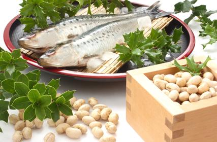 開運には節分の豆まきと恵方巻き?いえいえ実は「豆まき+イワシ」の組み合わせもあるのです